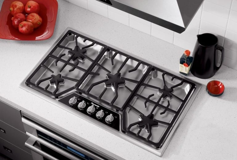 Thermador 36-inch gas cooktop