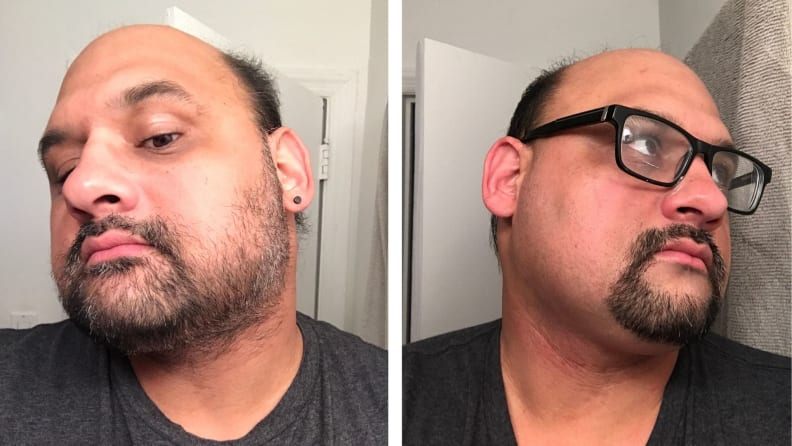Manscaped plow razor before and after