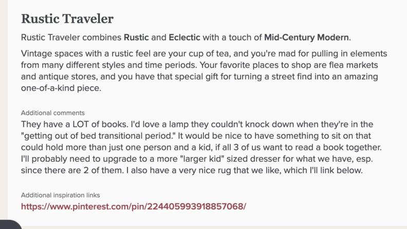 Rustic traveler