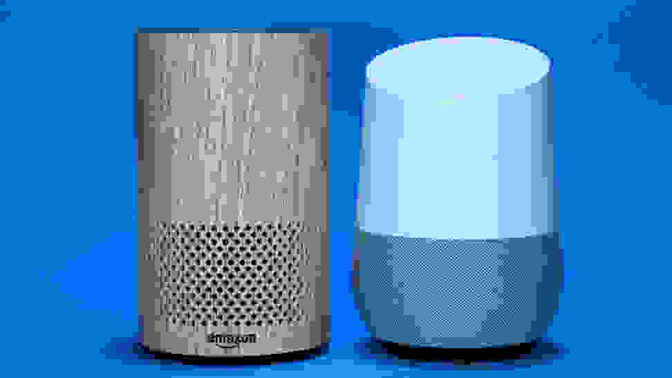 Amazon Echo and Google Home Smart Speakers