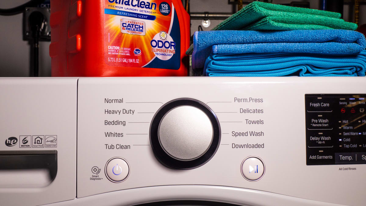 LG WM3500CW Front Loading Washing Machine Review - Reviewed