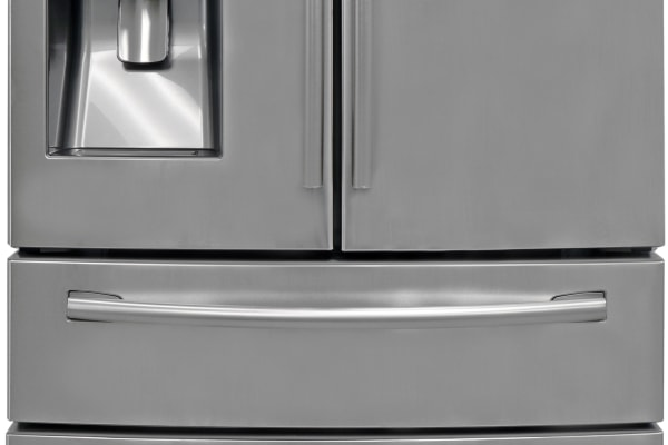 The stainless steel four-door Samsung RF28HMEDBSR effectively balances price with performance to create a great deal.