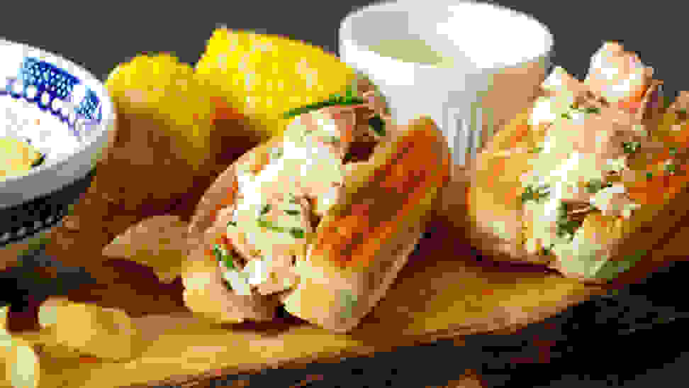 We can't get enough of this lobster roll with a Japanese twist