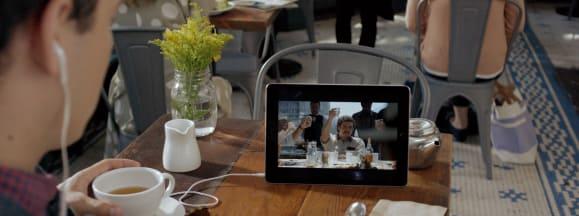 Netflix hero tablet