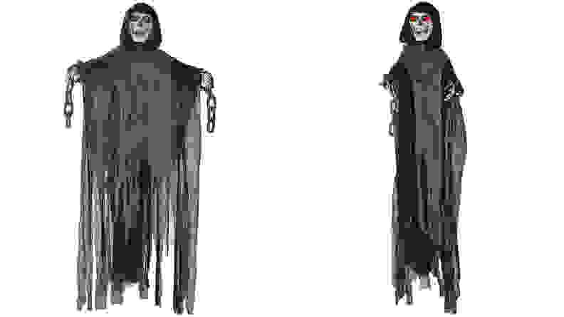Prextex 5 Ft. Animated Hanging Grim Reaper