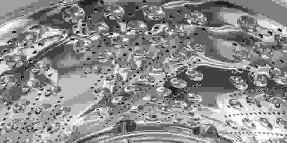 Steel bubbles