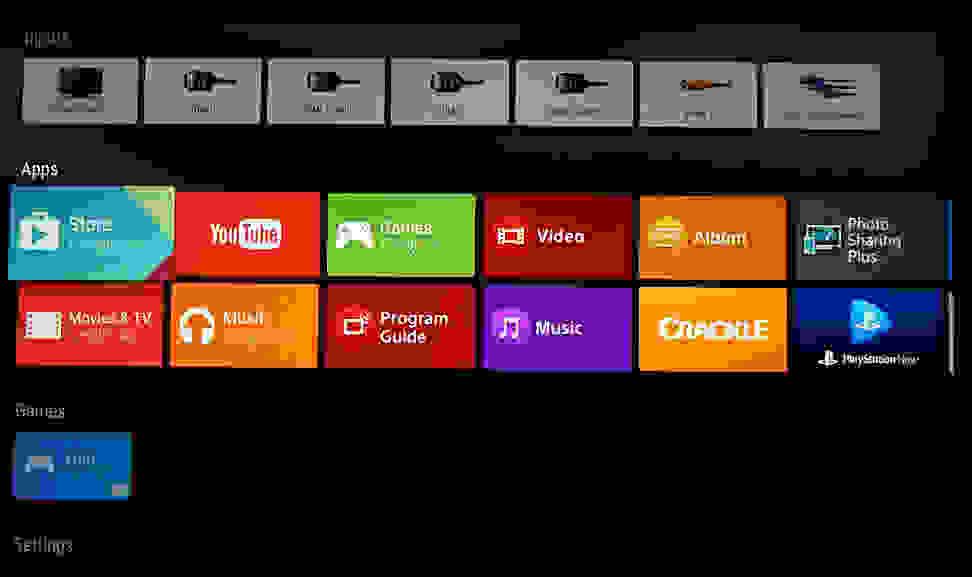 Sony-X930C-Google-Apps