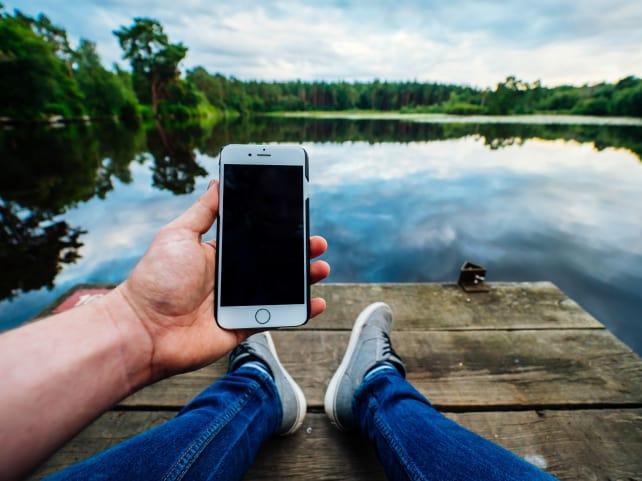 Smartphone Outside