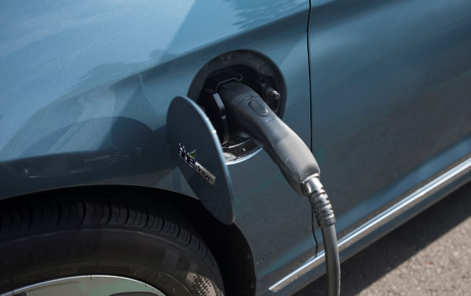 2016 Hyundai Sonata Plug-In Hybrid Port