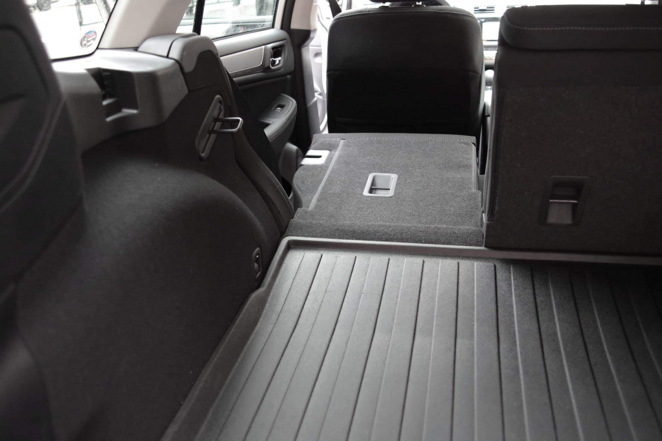 2015 Subaru Outback seats folded down
