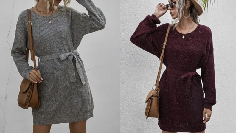 Zaful sweater dress