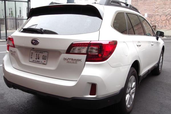 2015 Subaru Outback rear