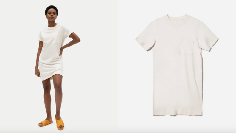 Everlane tee shirt dress