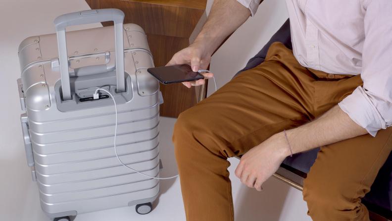 Away Aluminum Suitcase