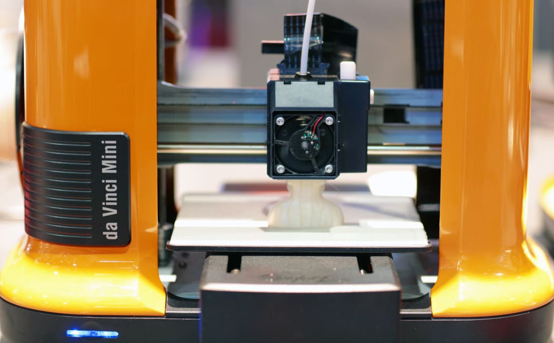 The XYZPrinting da Vinci Mini 3D printer