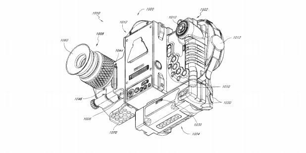 RED US Patent Design Camera Rig