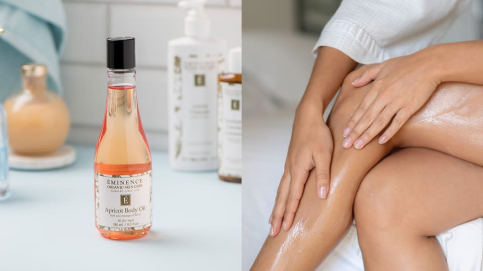 This body oil is perfect for dry winter skin