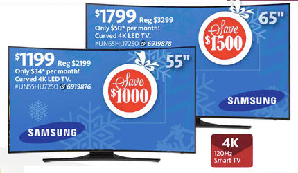 AAFES Cyber Monday TV Deal