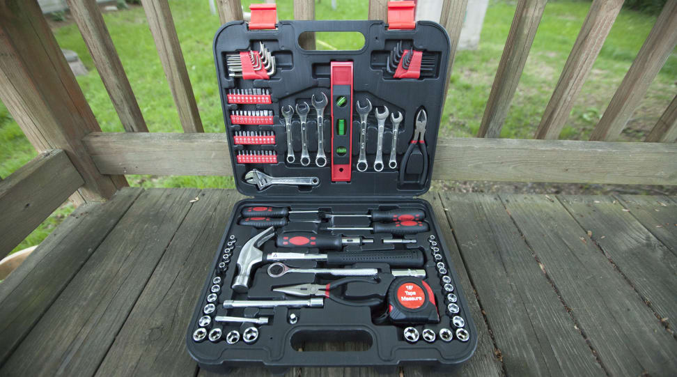Great Neck/iWork 119-piece toolkit