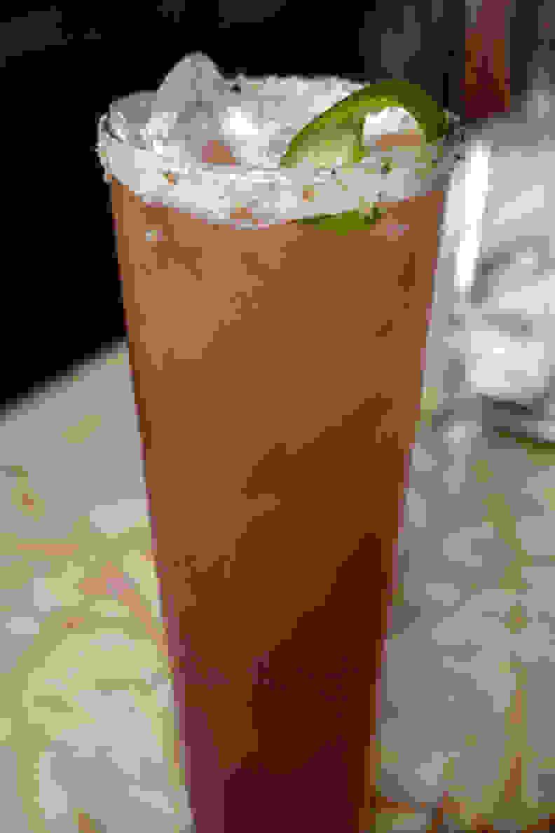 beer cocktails garnet goose