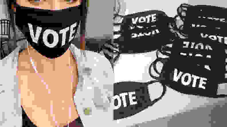 Etsy Vote Mask