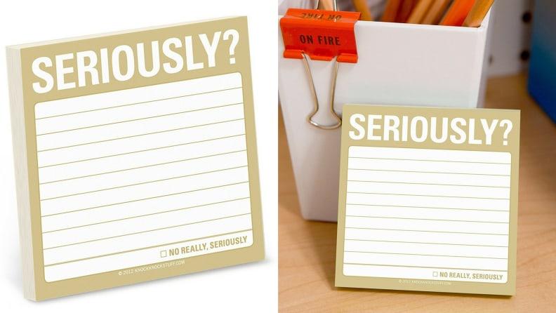 Seriously! Sticky Notes