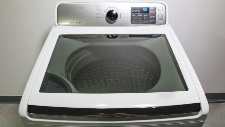 Samsung WA45M7050AW Washing Machine Review - Reviewed Laundry