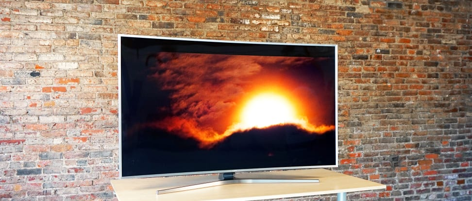 A Samsung quantum-dot TV