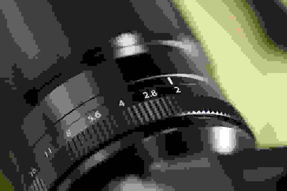 Fujinon 90mm f/2 top