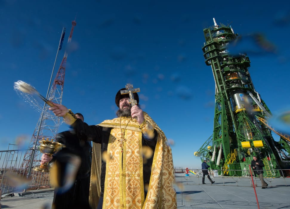 Expedition 42 Soyuz Blessing.jpg
