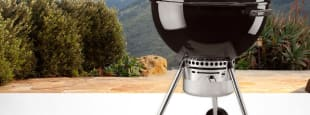 Weber one touch kettle grill