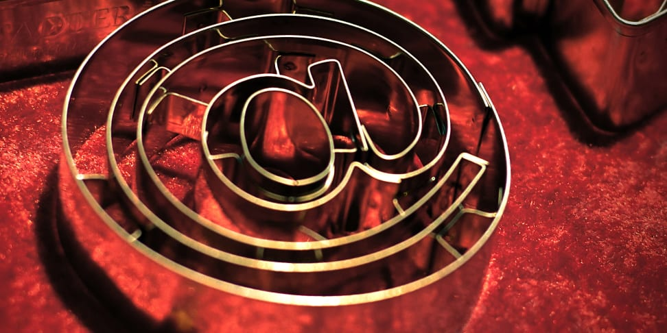 @ symbol on a cookie cutter