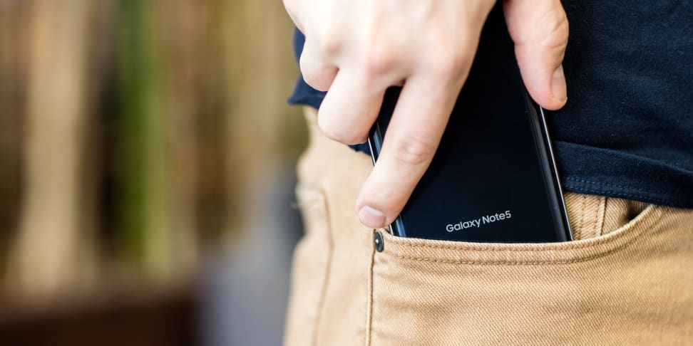 Samsung Note 5 Handling