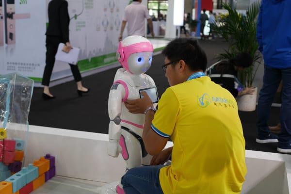 CES Asia 2016 robot care