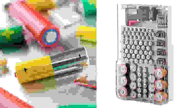 The Battery Organizer Battery Storage Case