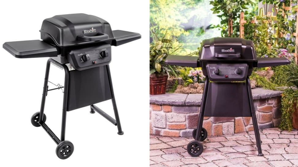 The Char-Broil Classic 2-Burner Gas Grill is on sale at eBay