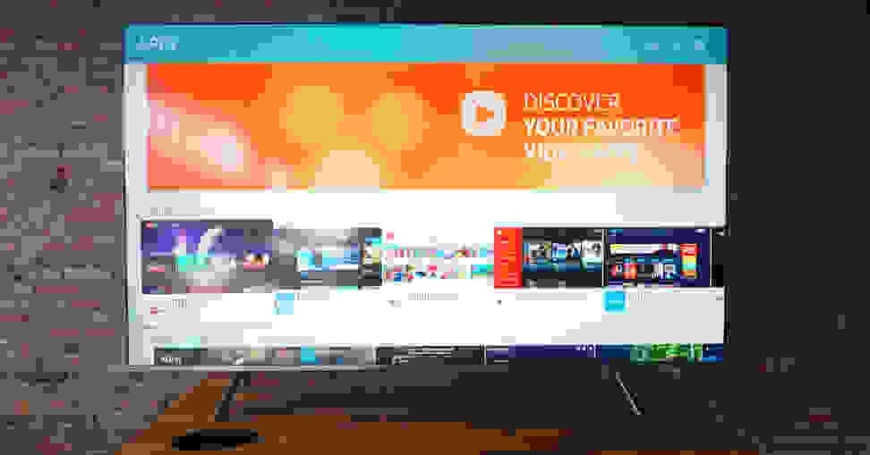 Samsung-MU8000-apps-front