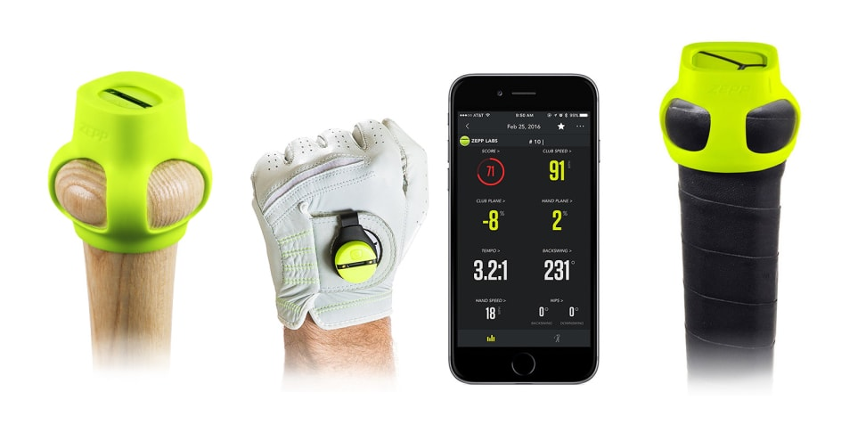 Help Dad improve his game with a swing analyzer for Father's Day