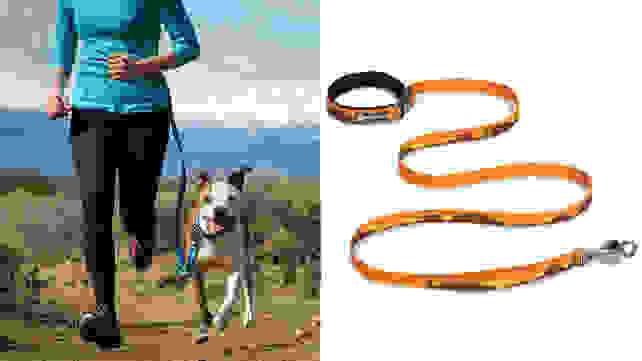 Hand and waist leash