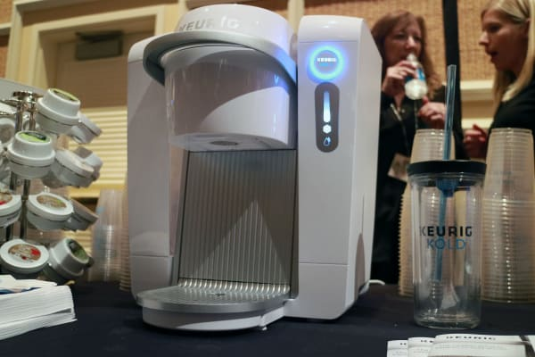 The Keurig Kold from the front