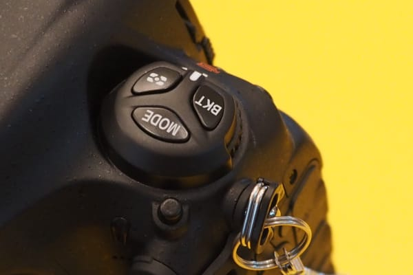 The D5 has moved some controls around, including the