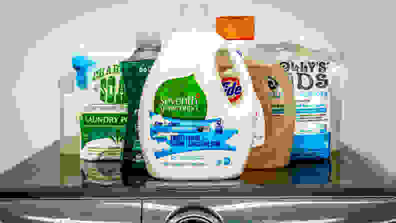 Our testing showed that Tru Earth performed around the same as Seventh Generation Free & Clear.