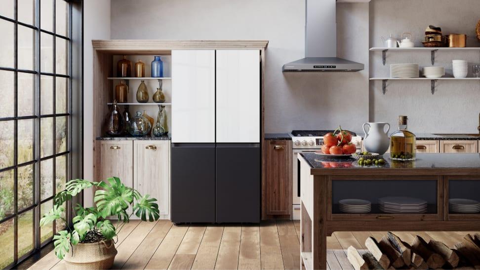 Samsung's Bespoke 4-Door Flex refrigerator