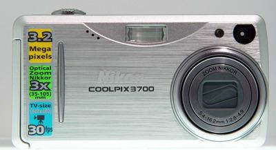 Product Image - Nikon CoolPix 3700