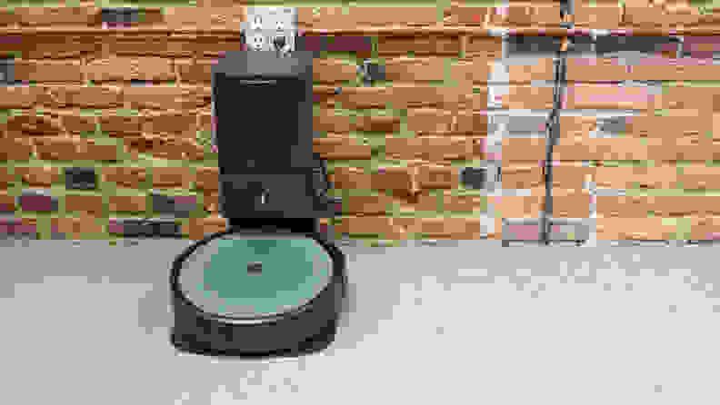 The iRobot i3+ in dock