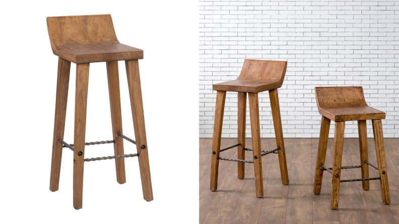 Reagan Low-Back Bar Stool