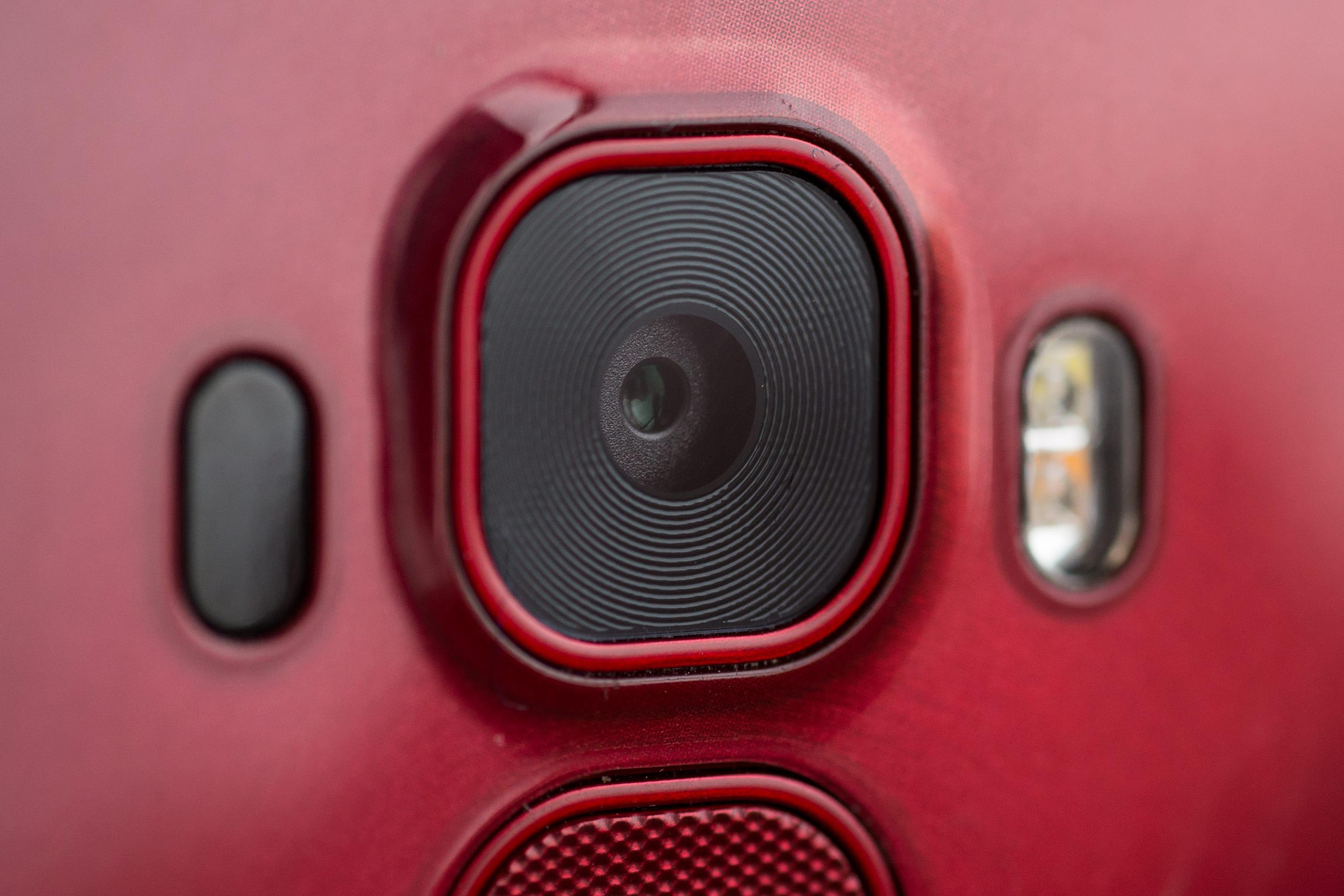 A photograph of the LG G Flex 2's camera.