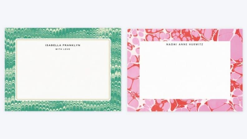 Papier Note Cards
