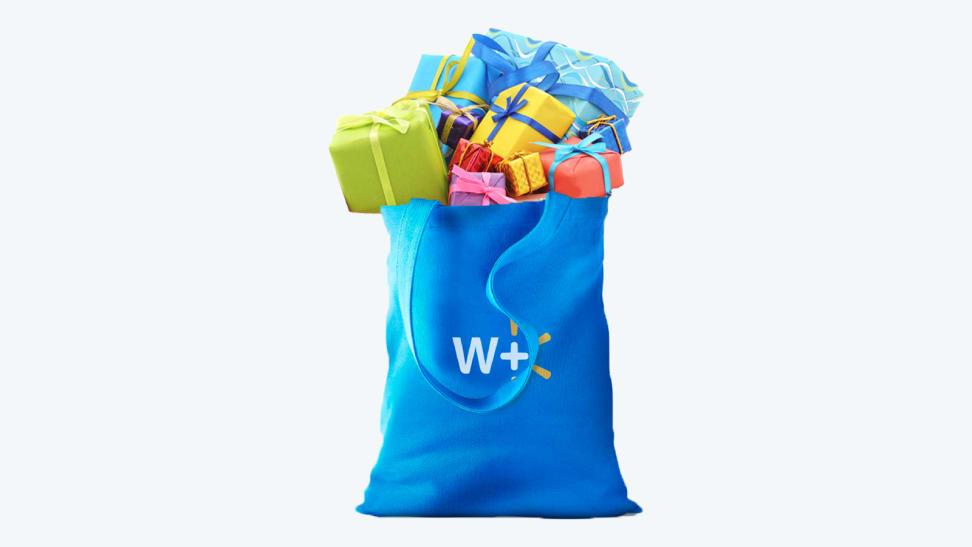 Bag full of present