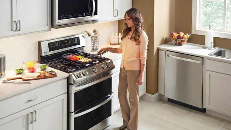 LG LDG4315ST double range oven